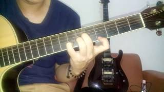 tutorial cara bermain gitar OST AADC suara hati seorang kekasih