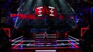 Mahalate vs Ethan vs Amber Super Battle | The Voice Australia 2015