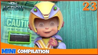 Vir The Robot Boy | Mini series | Compilation - 23 | 3D cartoon for kids | WowKidz Action