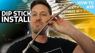 Ford 302 Dip stick install - How To #39