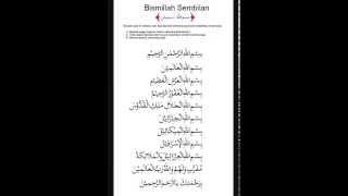 BISMILLAH 9