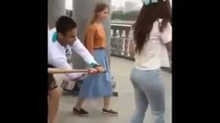 Novinha Delícia Leva Pau No Bundao