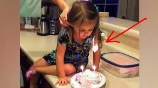 FUNNY KIDS Blowing out Candles FAILS - Best Funny TODDLERS Compilation