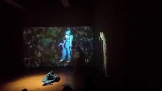 Art performance piece - The Real, The Virtual and the We