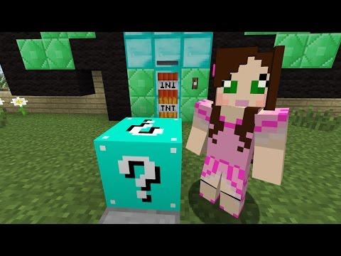 Minecraft BLUE LUCKY BLOCK CHALLENGE EPS9 32