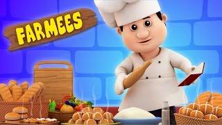 Hot Cross Buns | Nursery Rhymes | Kids Songs | Baby Rhymes by Farmees