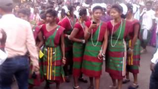 Santhali dance urimari sarhul festival 2016