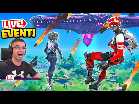 Nick Eh 30 reacts to Fortnite s Operation Sky Fire EVENT