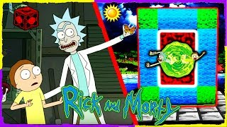 Minecraft Rick and Morty - How to Make a Portal to RICK & MORTY