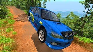 Rally Crash Compilation #1 - BeamNG.Drive