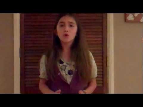 Rowan Blanchard sings Adele's