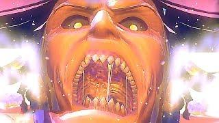Attack On Titan Season 2 Game Gameplay Trailer (PS4 / PS Vita) | Anime Games 2018