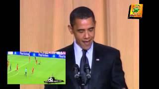 تحشيش عراقي اوباما - خسارة برشلونة 7-0 (هوليود العراق ح1)