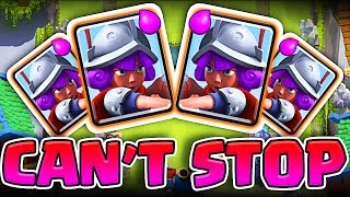 Download 4 MUSKETEERS ARE SO GOOD! • New Clash Royale Deck 3Gp Mp4