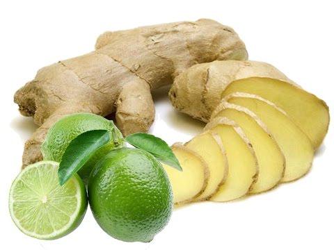 Como fazer gengibre com limão Receita para emagrecer