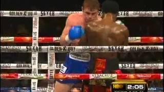 Saul Canelo Alvarez vs Lovemore N'dou