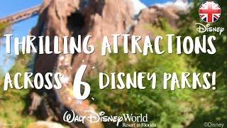 WALT DISNEY WORLD | Explore 6 Amazing Attractions At Walt Disney World, Florida | Official Disney UK