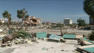 Neighborhoods in Mexico Beach wiped out by storm