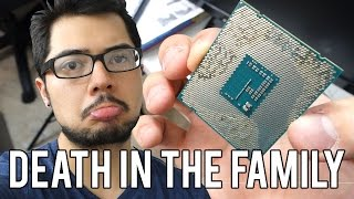 Disaster Strikes!! AIO Cooler Goes On Leaking Spree, 2 Dead - AwesomeVlog #018