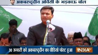 Akbaruddin Owaisi Hatred Speech, Attacks PM Modi over 'Sabka Saath Sabka Vikas'