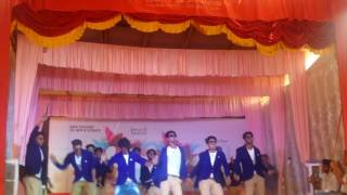 The Best collage Dance in 2017 NAWA 2k17 SAFA Collage. TEAM ADIOX BBA 2k14-17 collage day