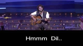 Arijit singh Soulful Performance Karaoke With Lyrics