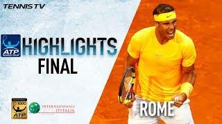Highlights: Rafa Reigns In Rome 2018