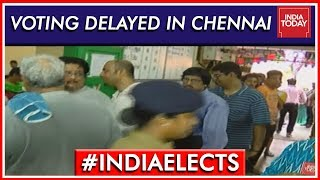 Voting Delayed In Prestigious South Chennai Seat Due To EVM Glitches | Lok Sabha Elections