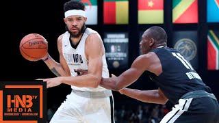 Team World vs Team Africa 1st Half Highlights | August 4, 2018 NBA Africa Game
