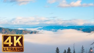 4K UHD Relaxation Video | Music for Deep Relaxation - MORNING SKY & CLOUDS - 30 minutes