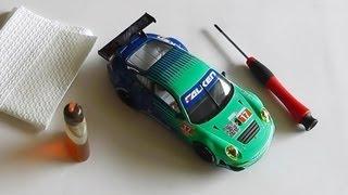 Slotcar reinigen - Tipps & Tricks - Carrera Bahn Digital Slot - Do it yourself No. 22