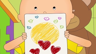 Funny Animated cartoons Kids | Caillou
