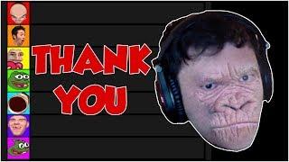 "Trainwrecks Reacts To MY VIDEO ""Twitch Tier List"""