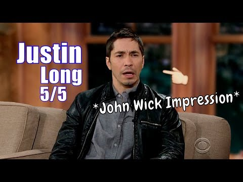 Justin Long Does A Great Keanu Reeves Impression 5 5 Visits In Chron. Order