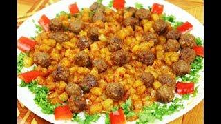 ألذ وجبة غداء او عشاء في ربع ساعة بحبتين بطاطا وربع كيلو لحمة لذيذة وسهلة مع رباح ( الحلقة 600 )