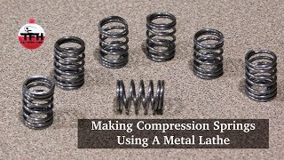 Making Compression Springs