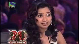 Sonu Nigam X - Factor V/s Contestant X - Factor On  Zoobi Doobi