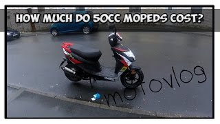 50cc Motovlogs: how much are 50cc mopeds? Beeline tapo rs