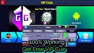 8 Ball Pool Vip Cue Trick Android//Black Diamond/Free//2017-Sep