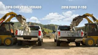Chevy Silverado vs  Ford F 150  Howie Long Compares Truck Beds   Chevrolet