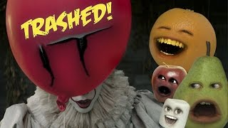 Annoying Orange - IT Trailer Trashed!!