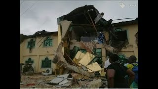 The demolition of Yinka Ayefele's Fresh FM Studio in Oyo State By The APC Govt. This Is EVIL!!