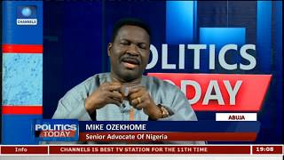 FG Should Have Waited For Legal Actions On IPOB Leader - Ozekhome Pt.1 |Politics Today|