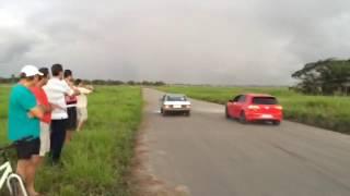 Gol 2 0 turbo vs Golf GTI