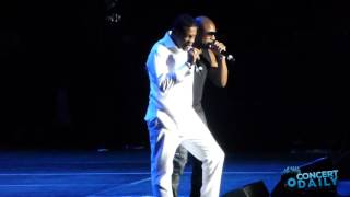 Keith Sweat & Tank perform