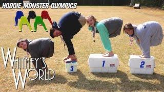 Hoodie Monster Olympics   Whitney Bjerken
