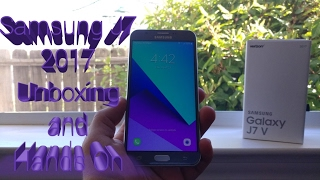 Samsung Galaxy J7 2017/J7 Perx /J7V/ Unboxing and Hands On