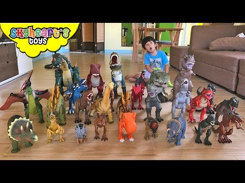 Skyheart s Dinosaurs Toys Collection Trex Animal Planet Jurassic World Dinosaurs for kids