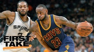 LeBron James Must Join Spurs To Beat Warriors | Final Take | First Take | June 15, 2017