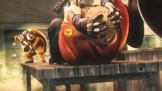 Street Fighter X Tekken TGS 2011 trailer - Rufus vs Bob